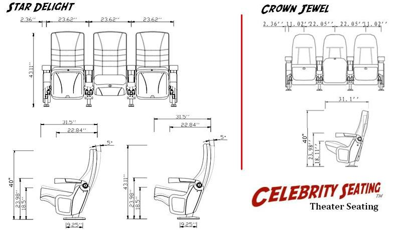 star delight home theater movie chairs