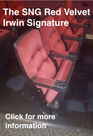 SNG Red Velvet Irwin Signature Chair