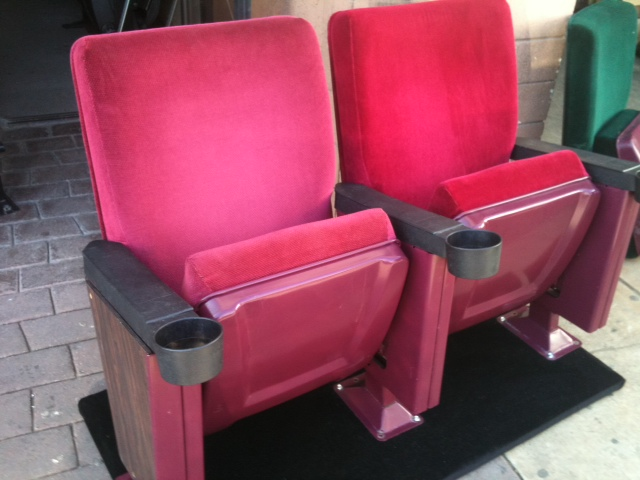 ... Wholesale Theater Seating. Margarita Red Rocker used theater chairs
