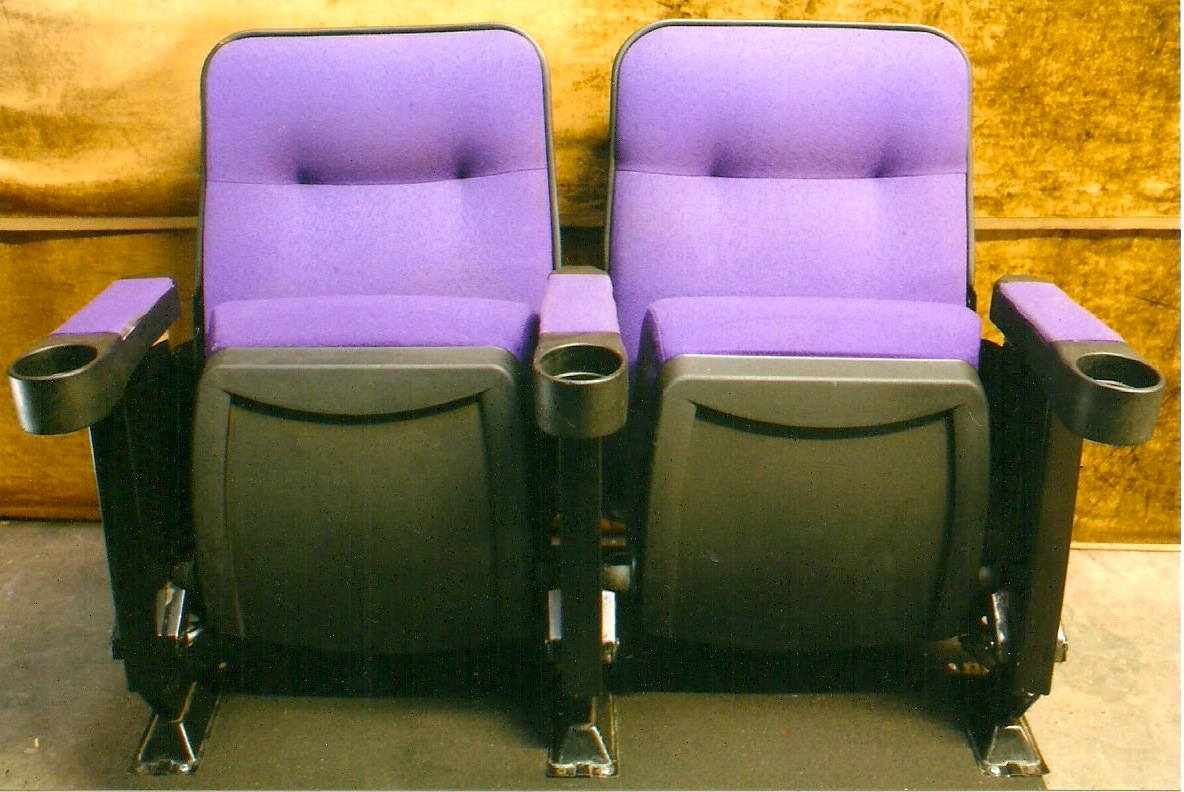 Whole Theater Seating Purple Marquee Used