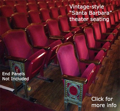 Vintage SB Fixed Wholesale Used Theater Seating